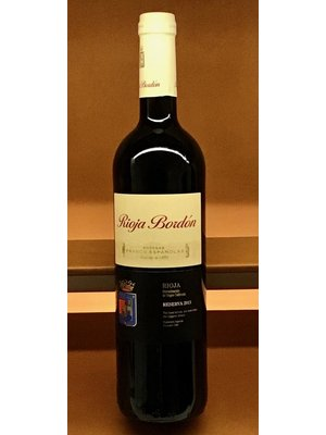 Wine FRANCO-ESPANOLAS BORDON RIOJA RESERVA 2013
