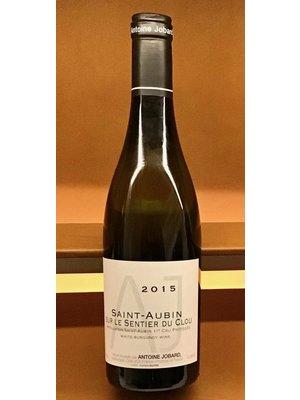 Wine ANTOINE JOBARD SAINT-AUBIN 'SUR LE SENTIER DU CLOU' 1ER CRU 2015