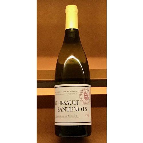 Wine MARQUIS D'ANGERVILLE 'MEURSAULT-SANTENOTS' 1ER CRU 2014