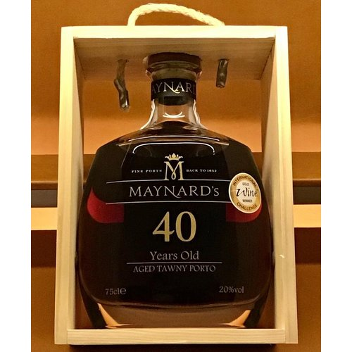 Fortified Wine MAYNARD 40 YRS OLD TAWNY PORT NV