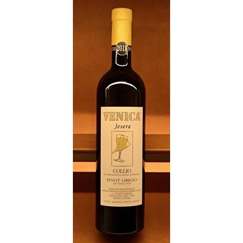 Wine VENICA AND VENICA PINOT GRIGIO 'JESERA' 2018