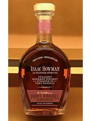 Spirits BOWMAN, ISAAC PORT FINISHED BOURBON