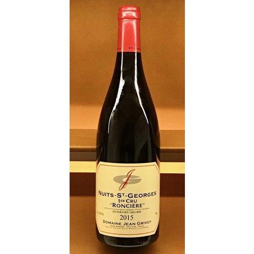 Wine JEAN GRIVOT NUITS SAINT GEORGES 1ER CRU RONCIERE 2015