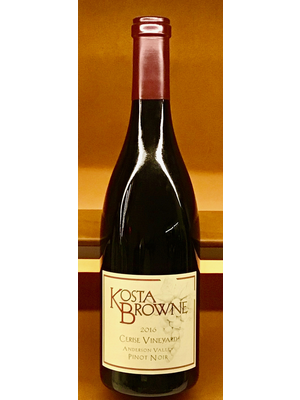 Wine KOSTA BROWNE PINOT NOIR  'CERISE VINEYARD' 2016