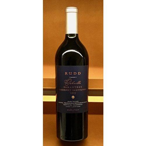 Wine RUDD SAMANTHA'S OAKVILLE CABERNET SAUVIGNON 2015