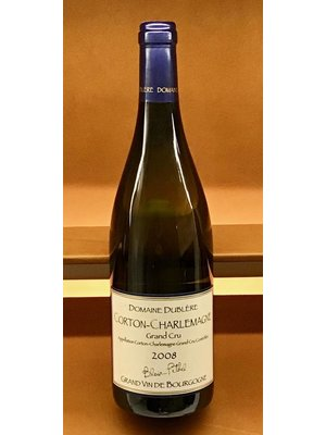 Wine DUBLERE CORTON CHARLEMAGNE GRAND CRU 2008