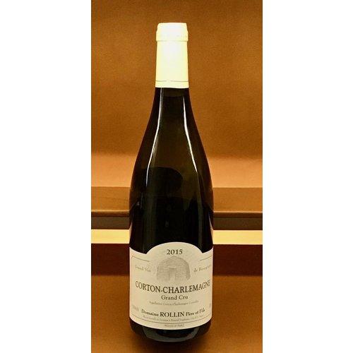 Wine DOMAINE ROLLIN CORTON-CHARLEMAGNE GRAND CRU 2015