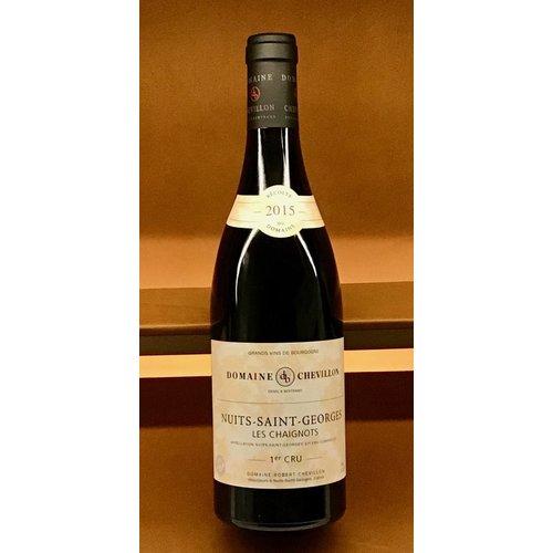 Wine ROBERT CHEVILLON NUITS SAINT GEORGES 'LES CHAIGNOTS' 1ER CRU 2015