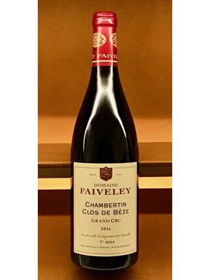 Wine DOMAINE FAIVELEY CHAMBERTIN CLOS DE BEZE GRAND CRU 2016