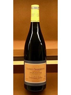 Wine DOMINIQUE GALLOIS GEVREY-CHAMBERTIN 1ER CRU PETITS CAZETIERS 2016