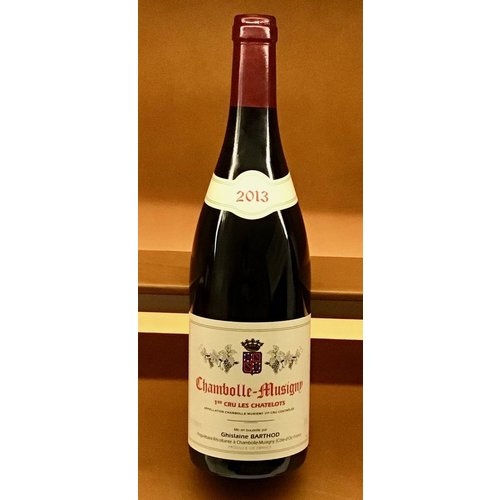Wine GHISLAINE BARTHOD CHAMBOLLE-MUSIGNY 'LES CHATELOTS' 1ER CRU 2013