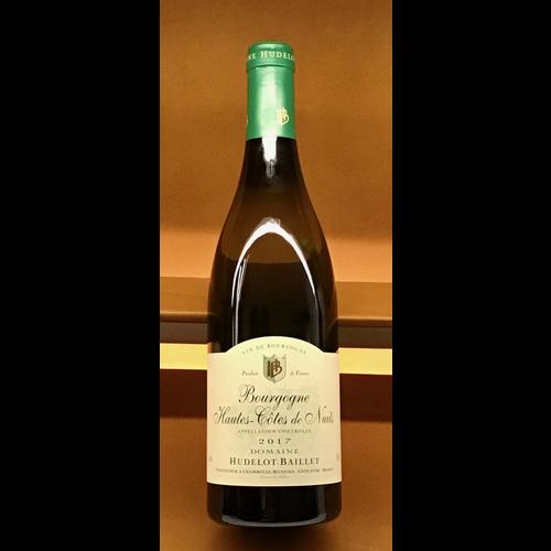 Wine HUDELOT-BAILLET HAUTES COTES DE NUITS BLANC 2017