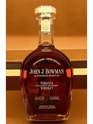 Spirits BOWMAN, JOHN J. SINGLE BARREL BOURBON