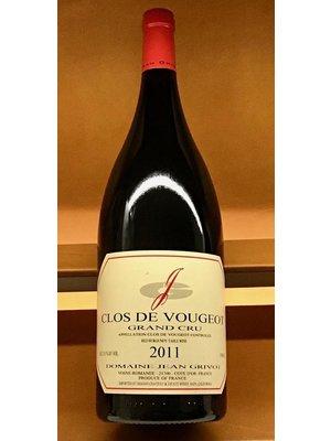 Wine JEAN GRIVOT CLOS VOUGEOT GRAND CRU 2011 1.5L