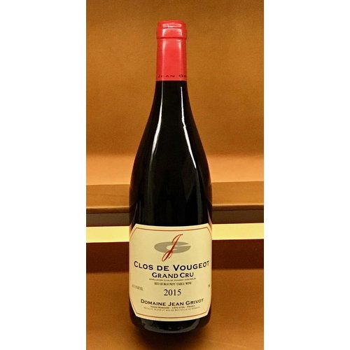Wine JEAN GRIVOT CLOS VOUGEOT GRAND CRU 2015