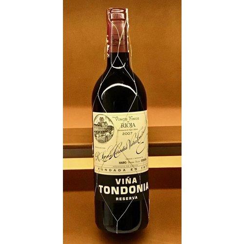 Wine LOPEZ DE HEREDIA 'VINA TONDONIA' RESERVA 2007