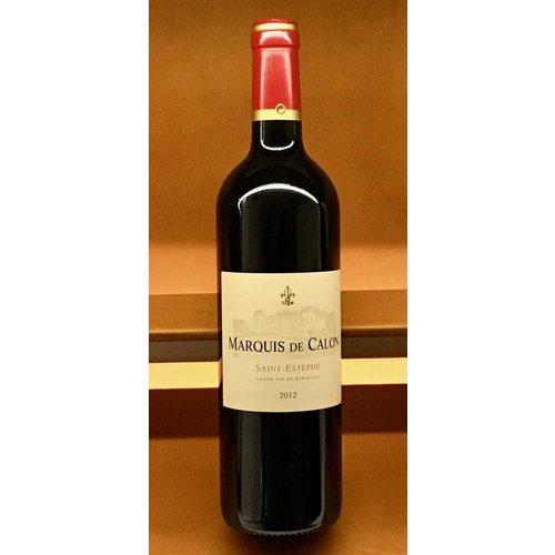 Wine CALON-SEGUR 'MARQUIS DE CALON' 2012