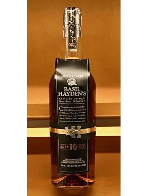 Spirits BASIL HAYDEN'S STRAIGHT BOURBON 10 YEARS