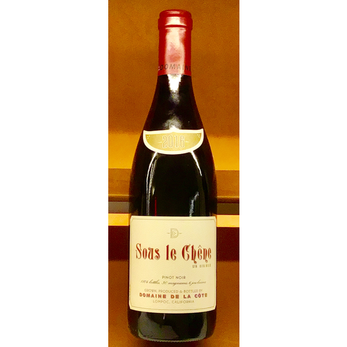 """Wine DOMAINE DE LA COTE """"SOUS LE CHENE"""" PINOT NOIR 2016"""