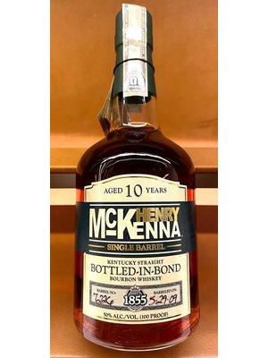 Spirits HENRY MCKENNA SINGLE BARRELL 10 YEARS BOURBON