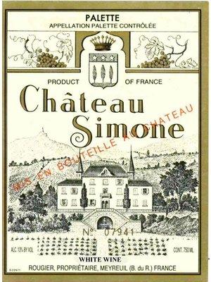 Wine CH SIMONE PALETTE BLANC 2012