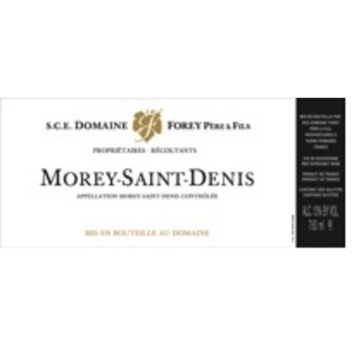 Wine REGIS FOREY MOREY SAINT DENIS 1ER CRU 2012