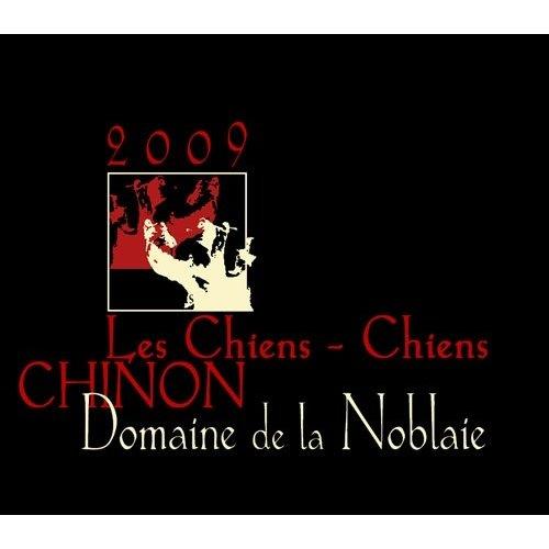 Wine DOMAINE DE LA NOBLAIE CHINON ROUGE 'LES CHIENS-CHIENS' 2014