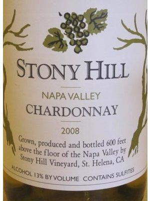 Wine STONY HILL CHARDONNAY 2012