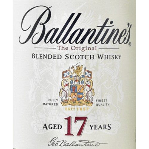 Spirits BALLANTINE SCOTCH 17YR