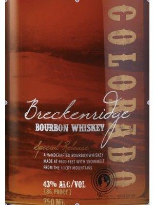 Spirits BRECKENRIDGE BOURBON WHISKEY