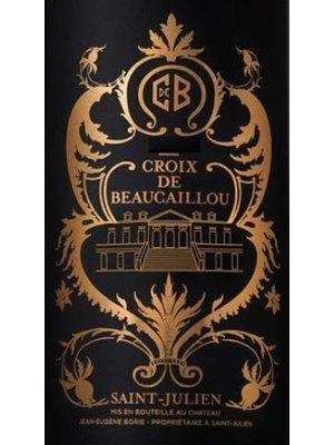 Wine CROIX DE BEAUCAILLOU SAINT-JULIEN 2015