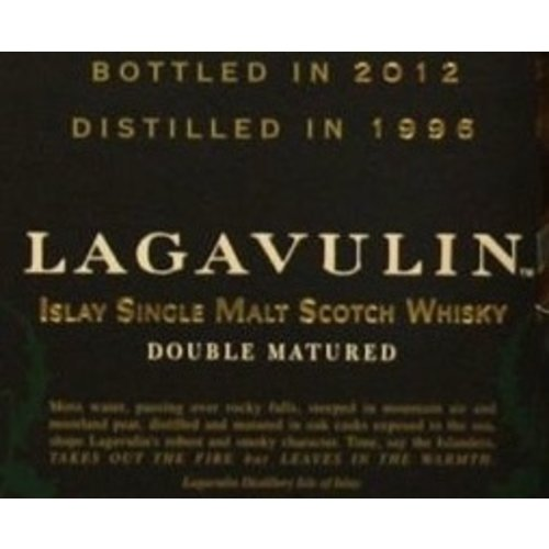 Spirits LAGAVULIN DISTILLERS EDITION 2002 SCOTCH