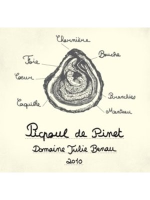 Wine DOMAINE JULIE BENAU PICPOUL DE PINET 2017