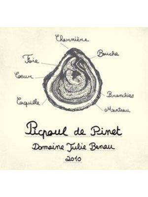 Wine DOMAINE JULIE BENAU PICPOUL DE PINET 2018