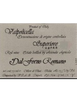 Wine DAL FORNO ROMANO VALPOLICELLA SUPERIORE 'MONTE LODOLETTA' 2006