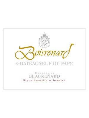 Wine DOMAINE DE BEAURENARD CHATEAUNEUF-DU-PAPE 'BOISRENARD' 2015