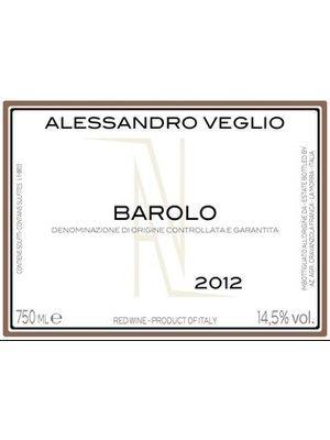 Wine ALESSANDRO VEGLIO BAROLO 2012