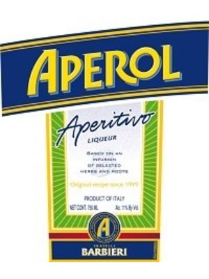 Spirits APEROL APERITIVO 22