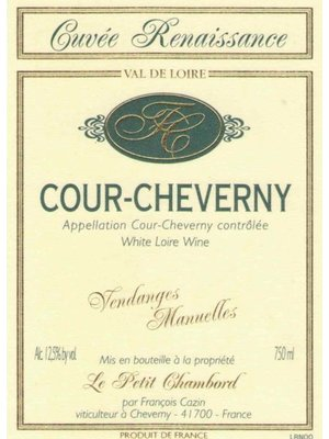 Wine FRANCOIS CAZIN COUR-CHEVERNY CUVEE RENASSAINCE 2015