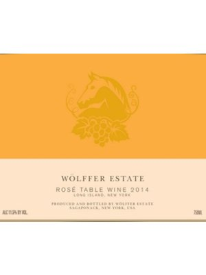 Wine WOLFFER ESTATE ROSE 2017