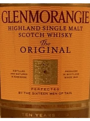 Spirits GLENMORANGIE THE ORIGINAL 10YR SCOTCH
