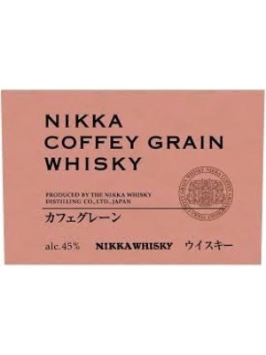 Spirits NIKKA 'COFFEY' GRAIN WHISKY