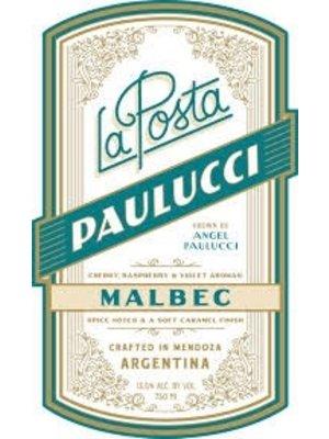 Wine LA POSTA MALBEC 'PAULUCCI VINEYARD' 2017