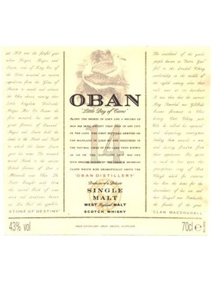 Spirits OBAN 14YR SCOTCH WHISKY