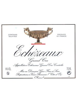 Wine GROS FRERE ET SOEUR ECHEZEAUX GRAND CRU 2008