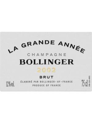 Wine BOLLINGER BRUT 'LA GRANDE ANNEE' CHAMPAGNE 2007