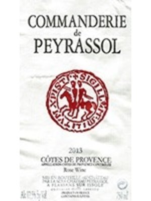 Wine PEYRASSOL DE LA COMMANDERIE ROSE 2018