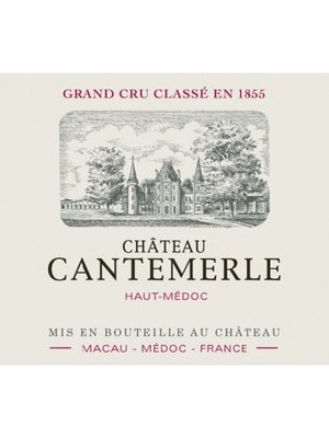Wine CH CANTEMERLE 2010