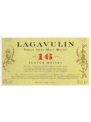 Spirits LAGAVULIN 16YR SCOTCH