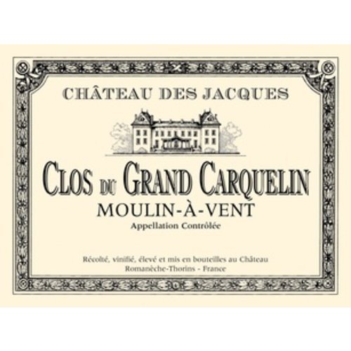 Wine CHATEAU DES JACQUES 'CLOS DU GRAND CARQUELIN' MOULIN-A-VENT 2013